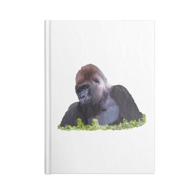 Silverback Gorilla Accessories Notebook by Gary Mc Alea Photography's Artist Shop
