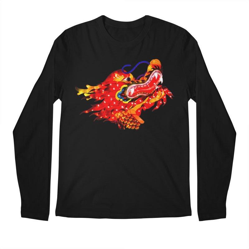 Dragon Head Men's Longsleeve T-Shirt by Gary Mc Alea Photography's Artist Shop