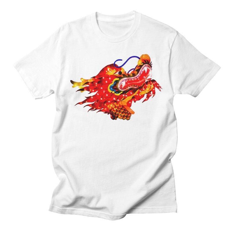 Dragon Head Men's T-Shirt by Gary Mc Alea Photography's Artist Shop