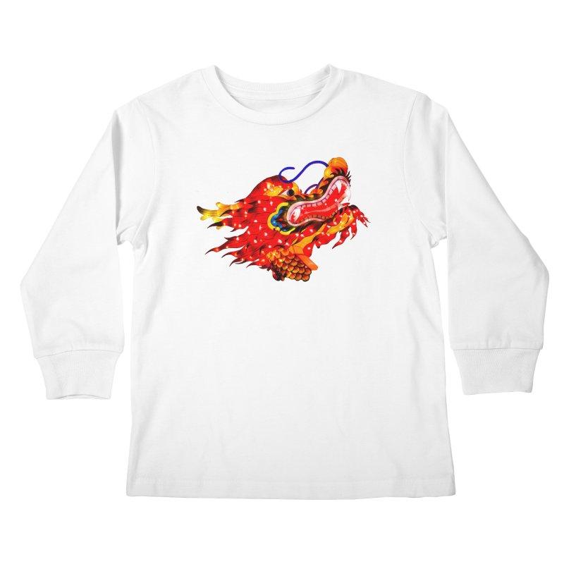 Dragon Head Kids Longsleeve T-Shirt by Gary Mc Alea Photography's Artist Shop