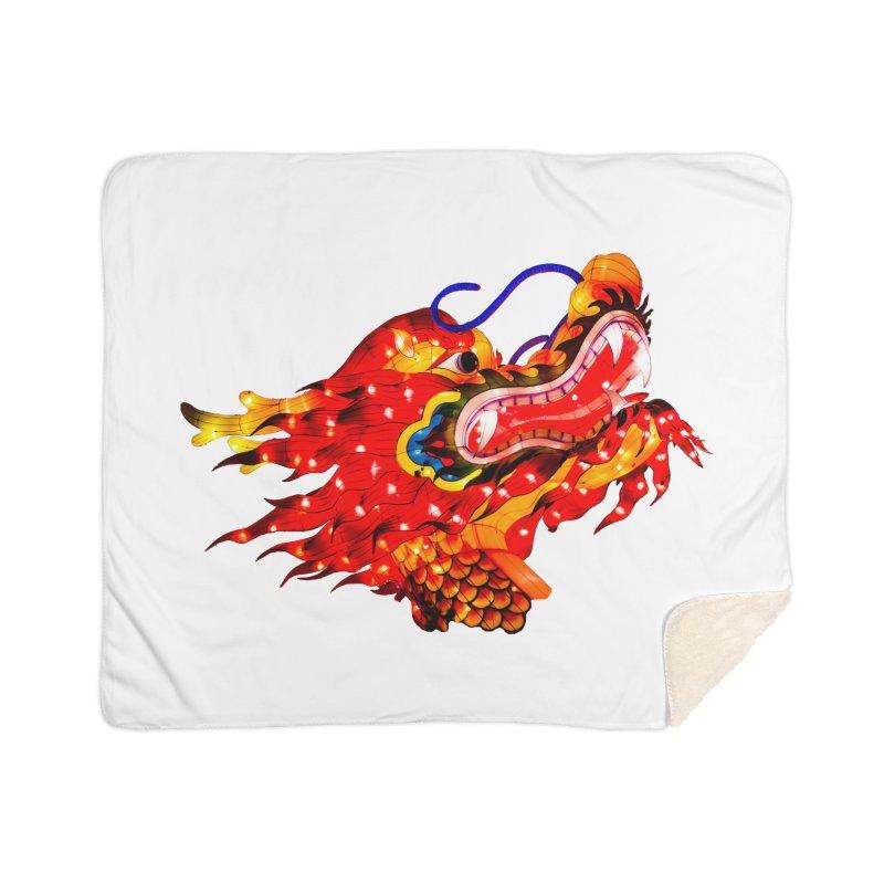 Dragon Head Home Blanket by Gary Mc Alea Photography's Artist Shop