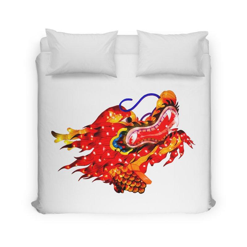 Dragon Head Home Duvet by Gary Mc Alea Photography's Artist Shop