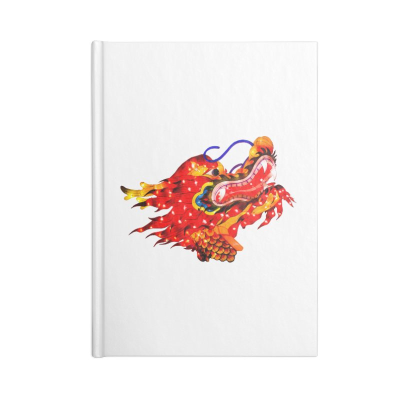 Dragon Head Accessories Notebook by Gary Mc Alea Photography's Artist Shop