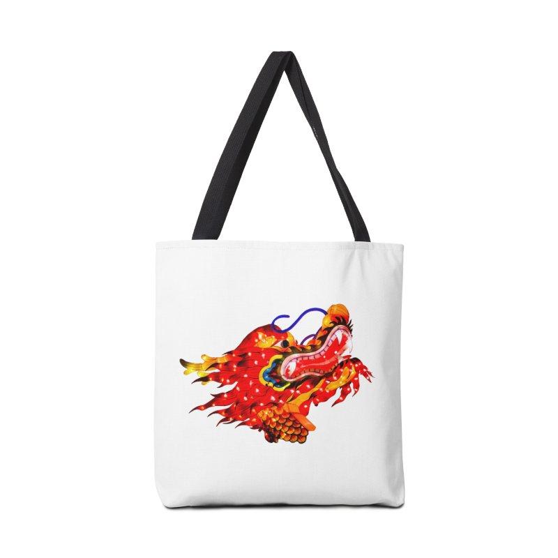 Dragon Head Accessories Bag by Gary Mc Alea Photography's Artist Shop