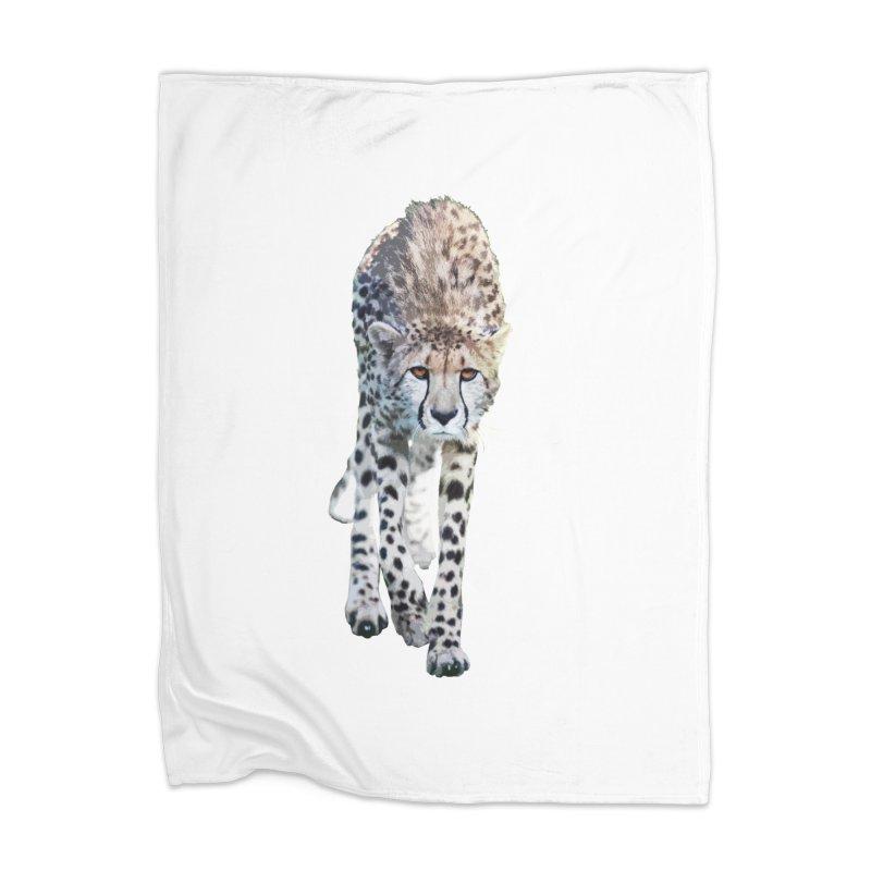 Cheetah Home Blanket by Gary Mc Alea Photography's Artist Shop