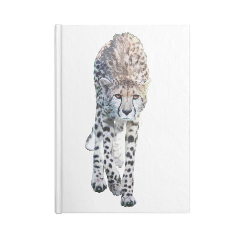 Cheetah Accessories Notebook by Gary Mc Alea Photography's Artist Shop