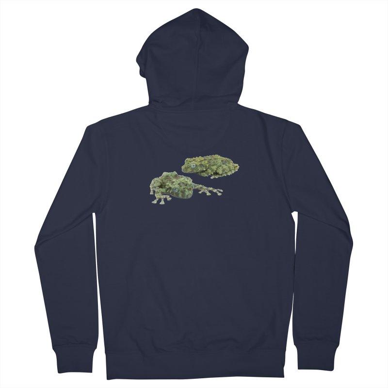 Mossy Frogs Men's Zip-Up Hoody by Gary Mc Alea Photography's Artist Shop