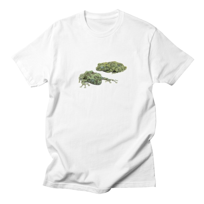 Mossy Frogs Men's T-Shirt by Gary Mc Alea Photography's Artist Shop