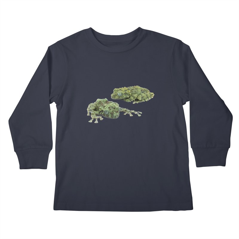 Mossy Frogs Kids Longsleeve T-Shirt by Gary Mc Alea Photography's Artist Shop