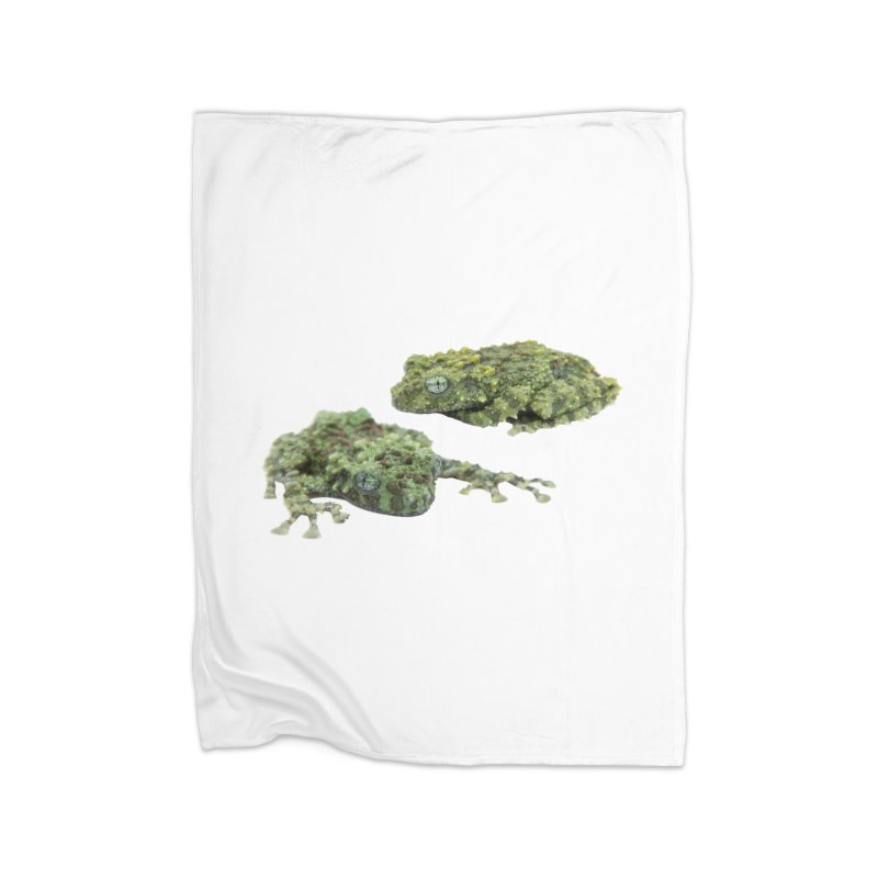 Mossy Frogs Home Blanket by Gary Mc Alea Photography's Artist Shop