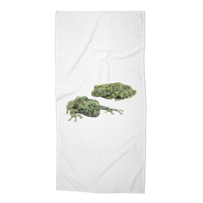 Mossy Frogs Accessories Beach Towel by Gary Mc Alea Photography's Artist Shop