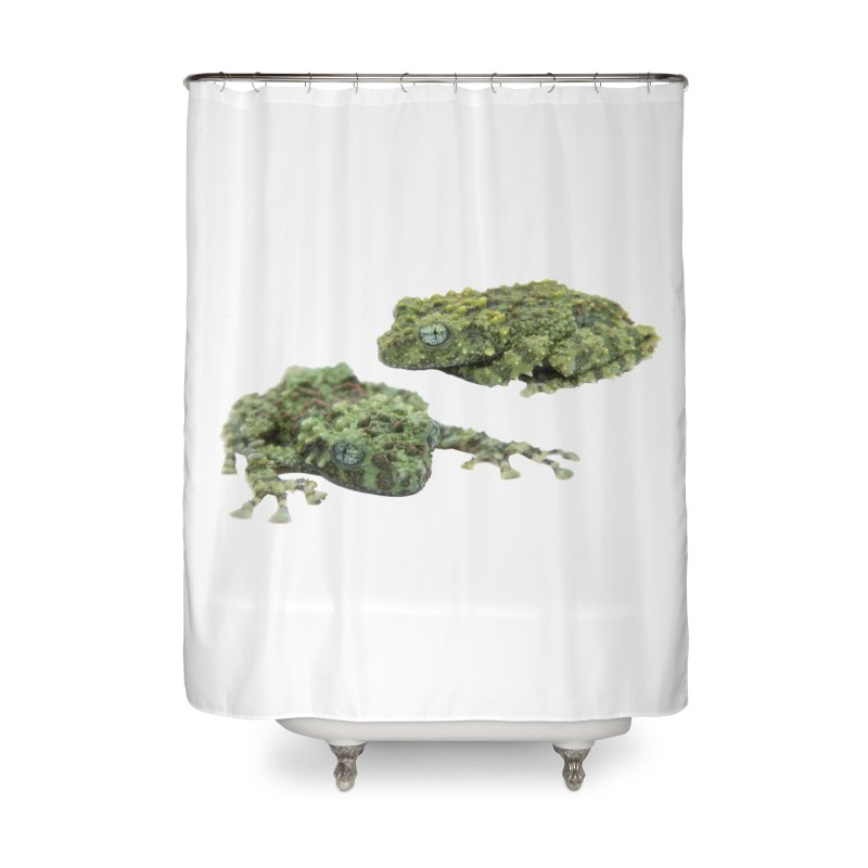 Mossy Frogs Home Shower Curtain by Gary Mc Alea Photography's Artist Shop