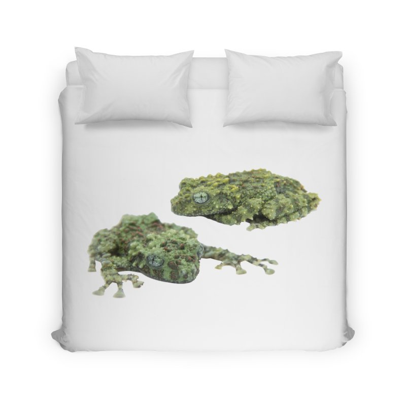Mossy Frogs Home Duvet by Gary Mc Alea Photography's Artist Shop