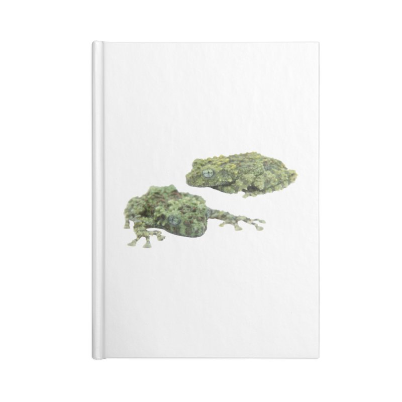 Mossy Frogs Accessories Notebook by Gary Mc Alea Photography's Artist Shop