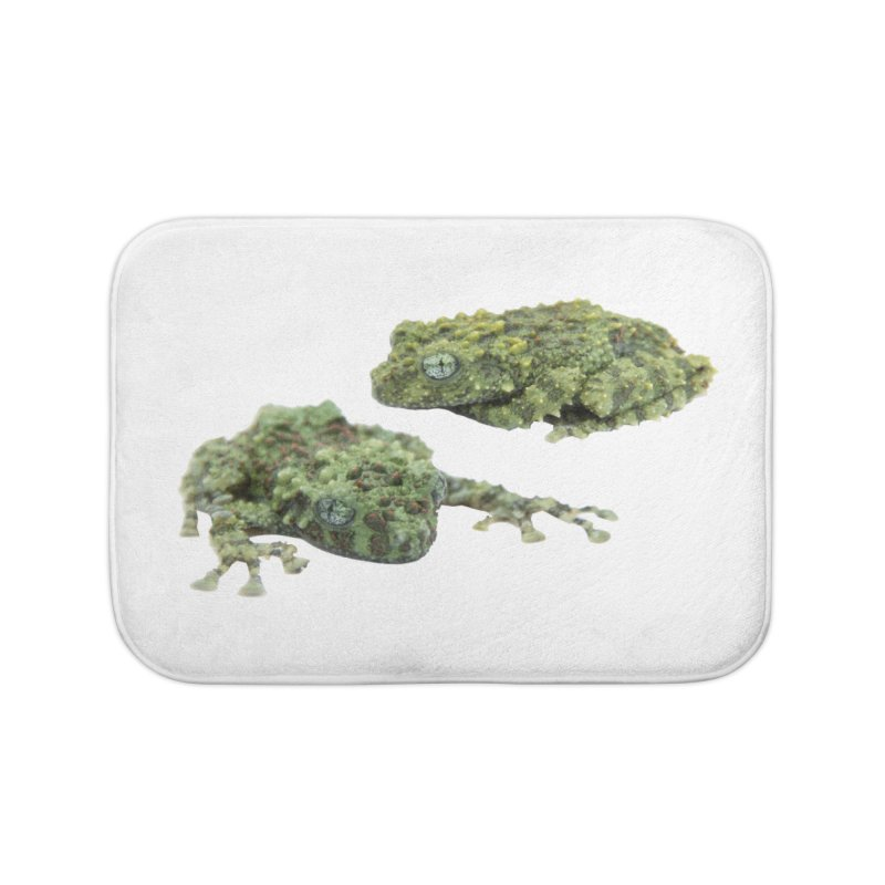 Mossy Frogs Home Bath Mat by Gary Mc Alea Photography's Artist Shop