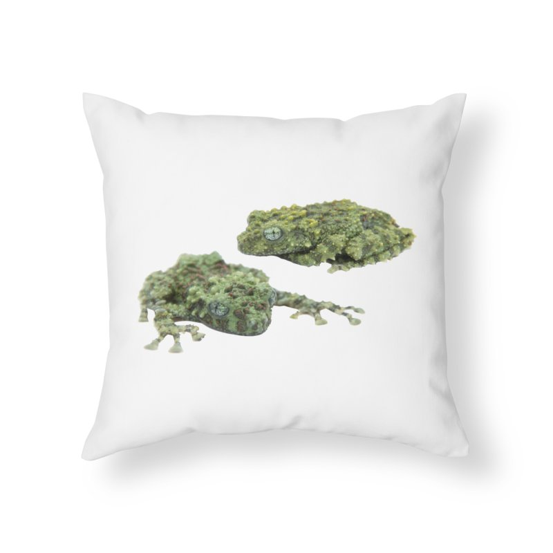 Mossy Frogs Home Throw Pillow by Gary Mc Alea Photography's Artist Shop