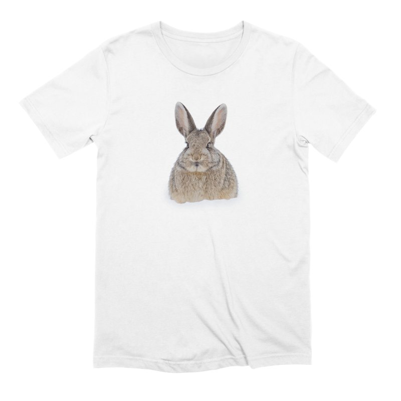 Snow Bunny Men's T-Shirt by Gary Mc Alea Photography's Artist Shop