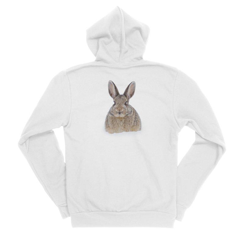 Snow Bunny Men's Zip-Up Hoody by Gary Mc Alea Photography's Artist Shop