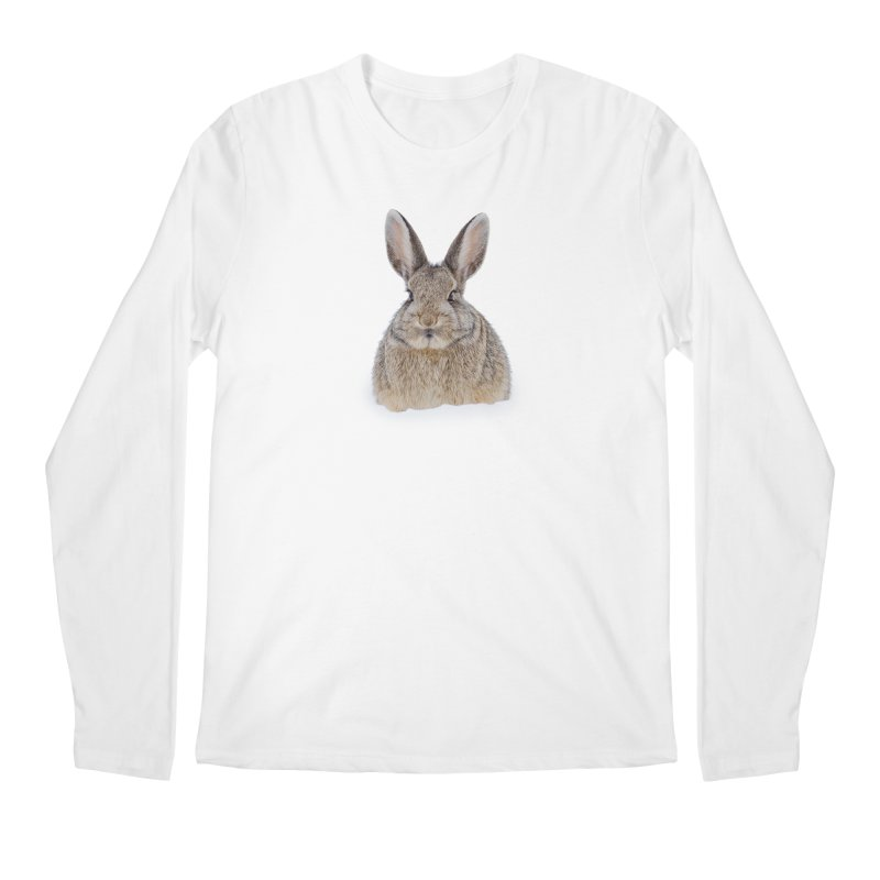 Snow Bunny Men's Longsleeve T-Shirt by Gary Mc Alea Photography's Artist Shop