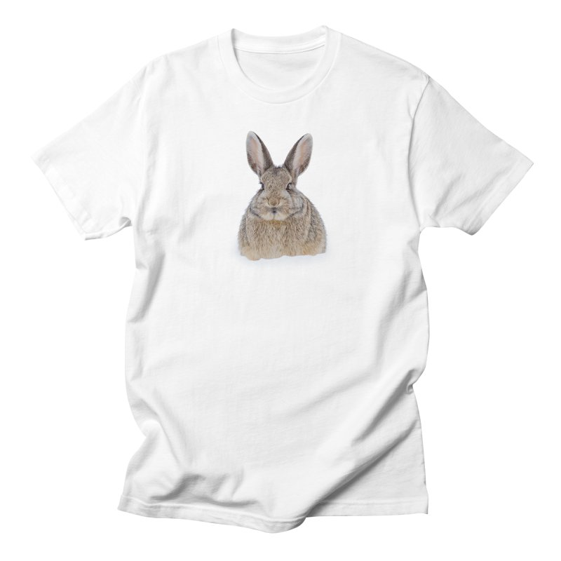 Snow Bunny Men's T-Shirt by Gary Mc Alea Photography's Artist Shop