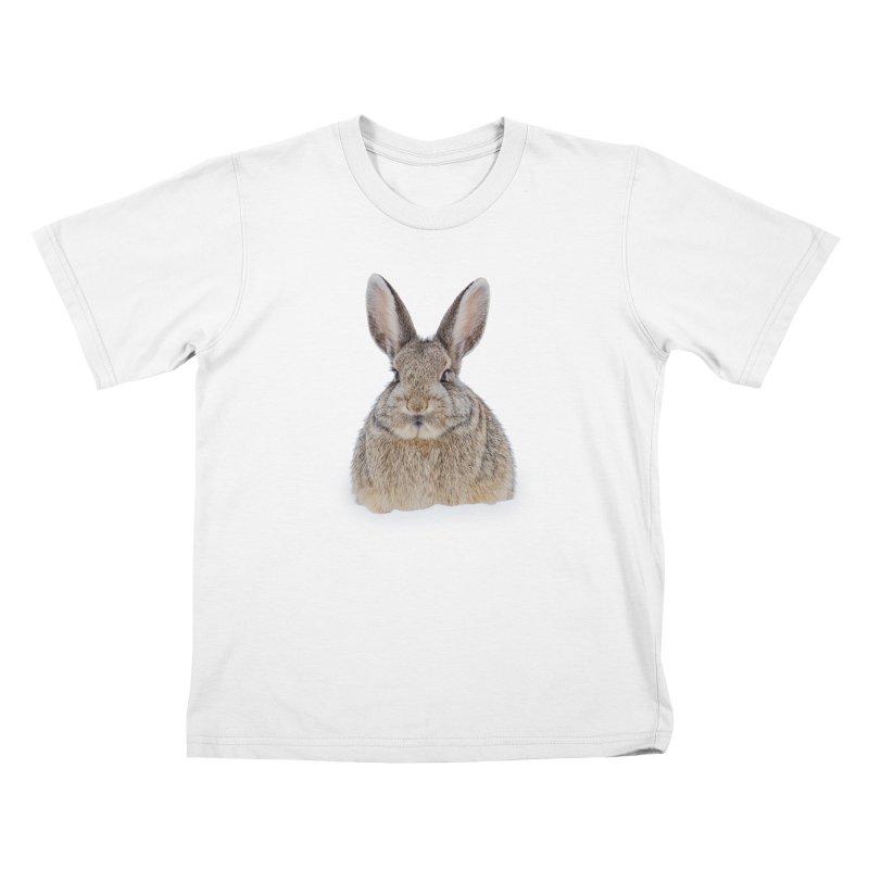 Snow Bunny Kids T-Shirt by Gary Mc Alea Photography's Artist Shop