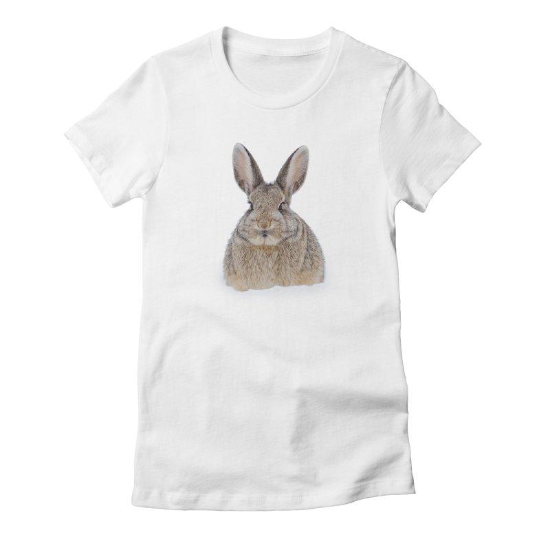 Snow Bunny Women's T-Shirt by Gary Mc Alea Photography's Artist Shop