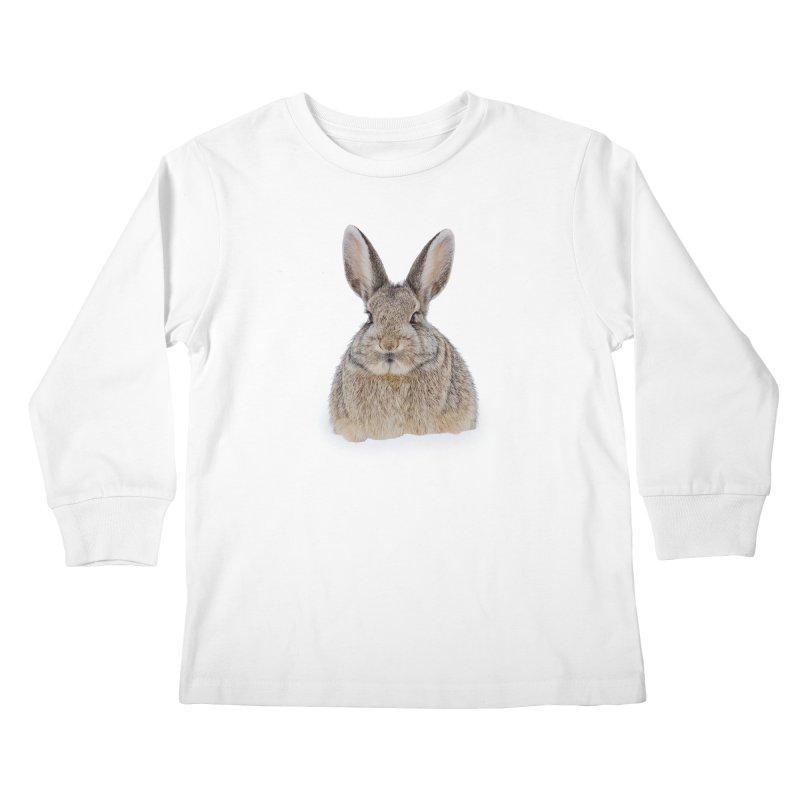 Snow Bunny Kids Longsleeve T-Shirt by Gary Mc Alea Photography's Artist Shop