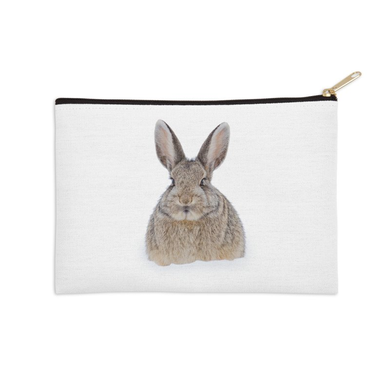 Snow Bunny Accessories Zip Pouch by Gary Mc Alea Photography's Artist Shop