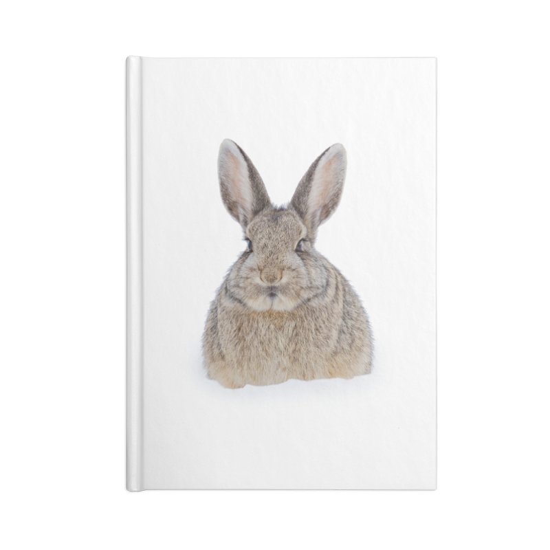 Snow Bunny Accessories Notebook by Gary Mc Alea Photography's Artist Shop