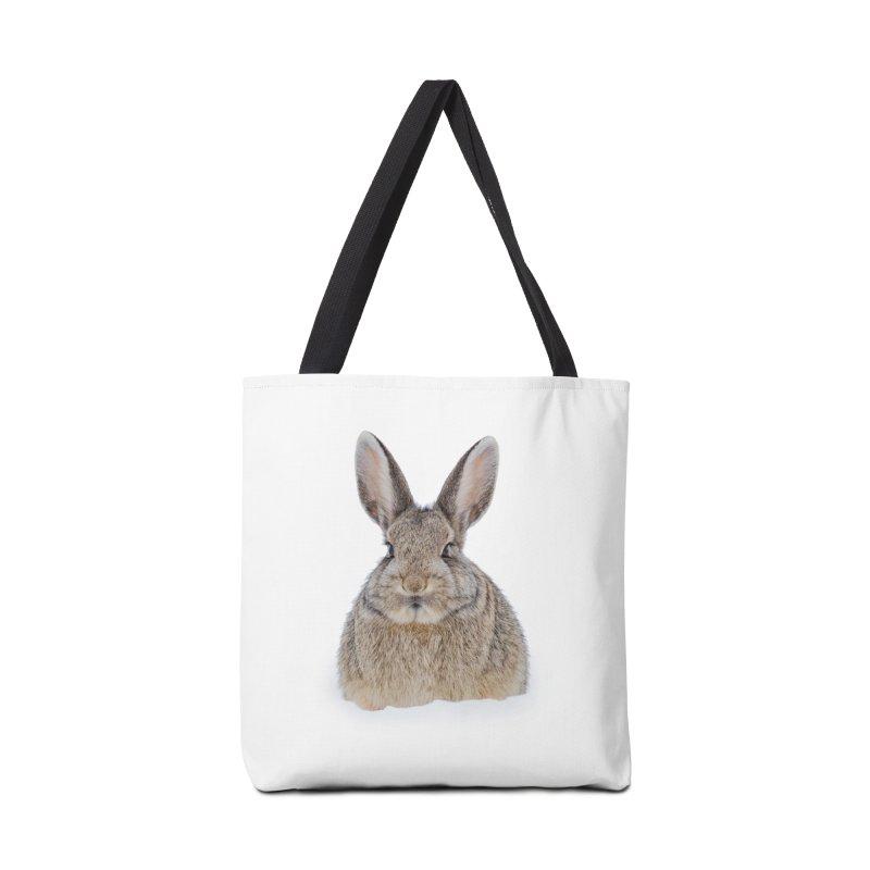 Snow Bunny Accessories Bag by Gary Mc Alea Photography's Artist Shop