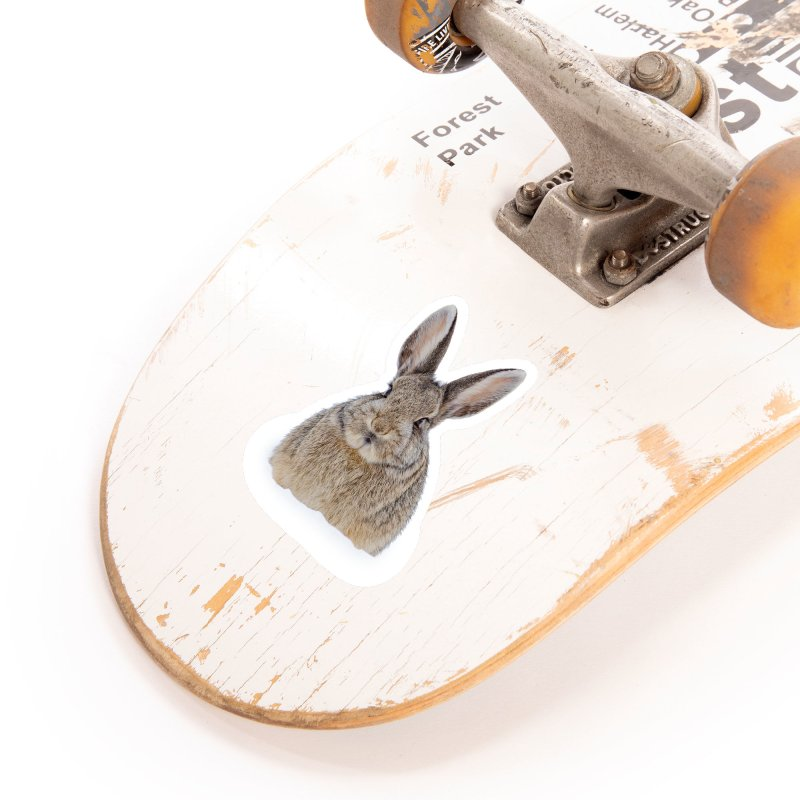 Snow Bunny Accessories Sticker by Gary Mc Alea Photography's Artist Shop