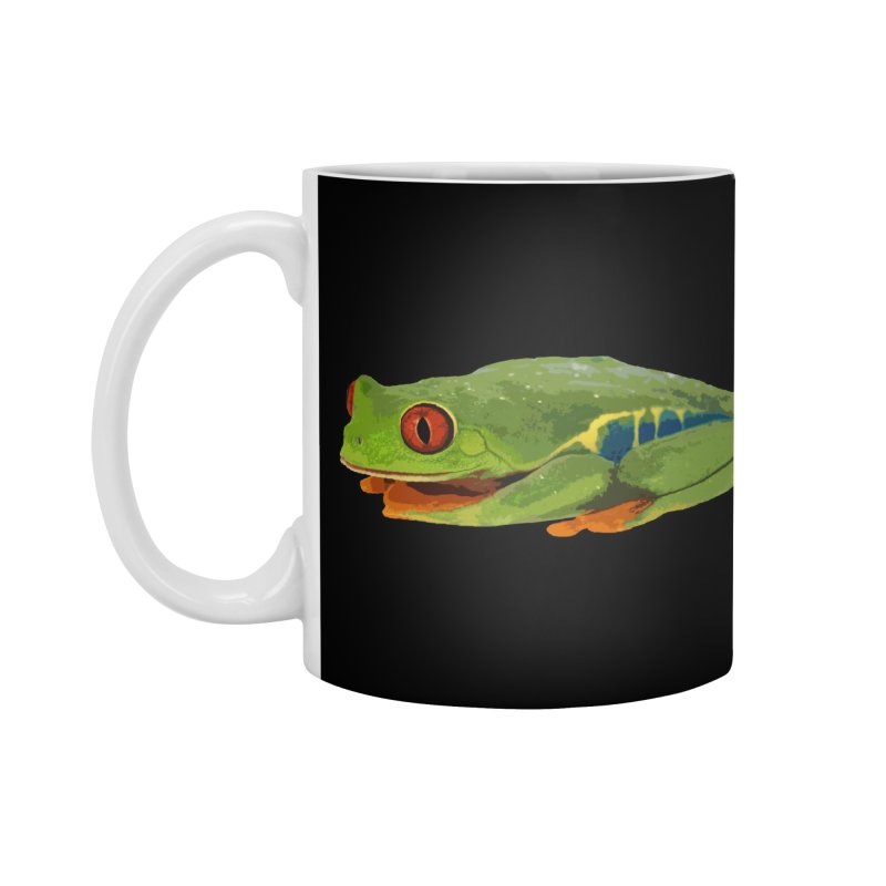 Red-Eyed Tree Frog Accessories Mug by Gary Mc Alea Photography's Artist Shop