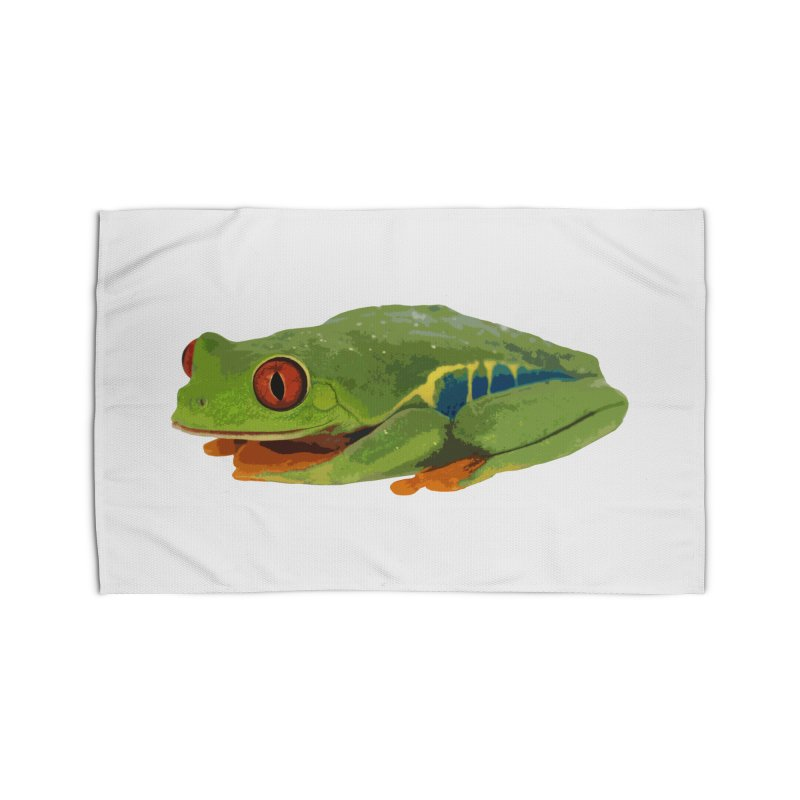 Red-Eyed Tree Frog Home Rug by Gary Mc Alea Photography's Artist Shop