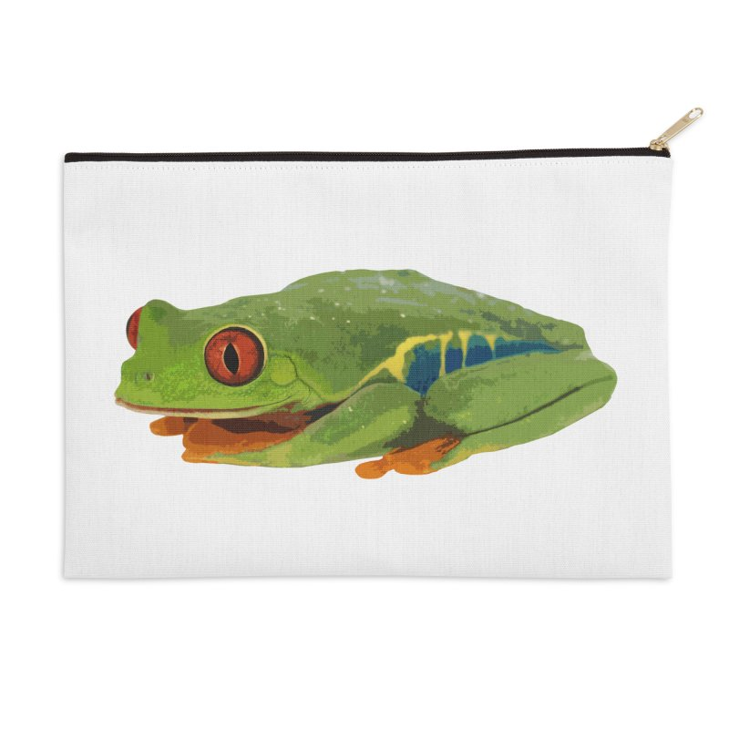 Red-Eyed Tree Frog Accessories Zip Pouch by Gary Mc Alea Photography's Artist Shop