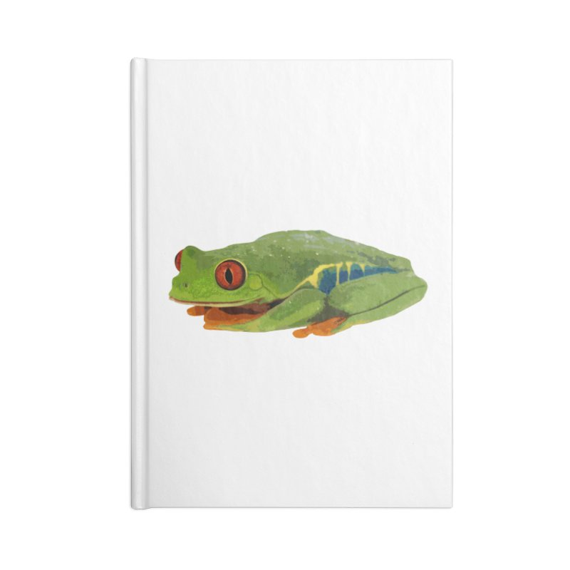Red-Eyed Tree Frog Accessories Notebook by Gary Mc Alea Photography's Artist Shop