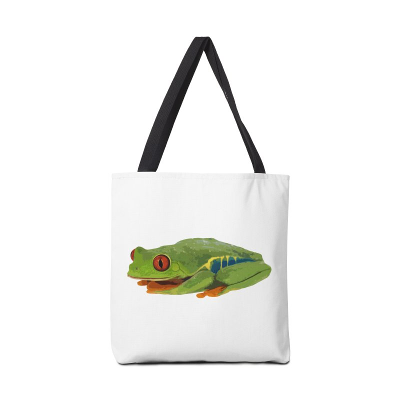 Red-Eyed Tree Frog Accessories Bag by Gary Mc Alea Photography's Artist Shop