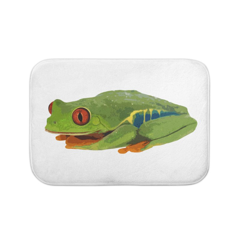 Red-Eyed Tree Frog Home Bath Mat by Gary Mc Alea Photography's Artist Shop