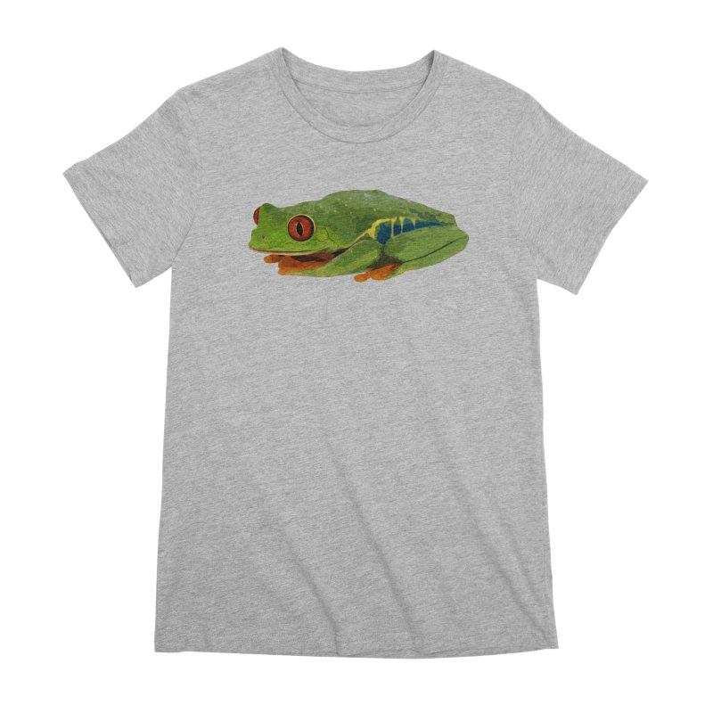 Red-Eyed Tree Frog Women's T-Shirt by Gary Mc Alea Photography's Artist Shop
