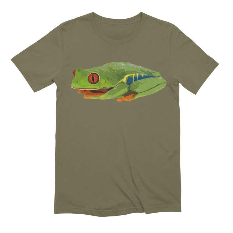 Red-Eyed Tree Frog Men's T-Shirt by Gary Mc Alea Photography's Artist Shop