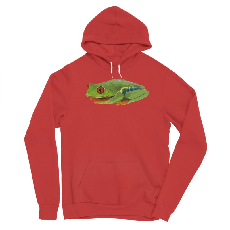Red-Eyed Tree Frog Women's Pullover Hoody by Gary Mc Alea Photography's Artist Shop