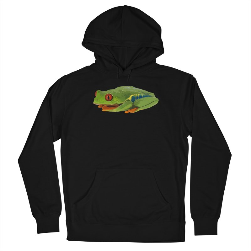Red-Eyed Tree Frog Men's Pullover Hoody by Gary Mc Alea Photography's Artist Shop