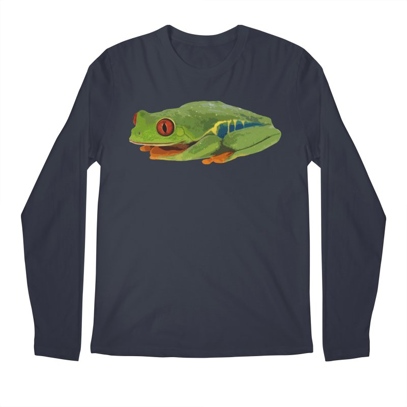 Red-Eyed Tree Frog Men's Longsleeve T-Shirt by Gary Mc Alea Photography's Artist Shop