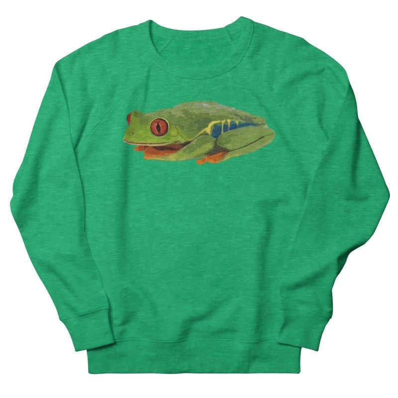Red-Eyed Tree Frog Women's Sweatshirt by Gary Mc Alea Photography's Artist Shop