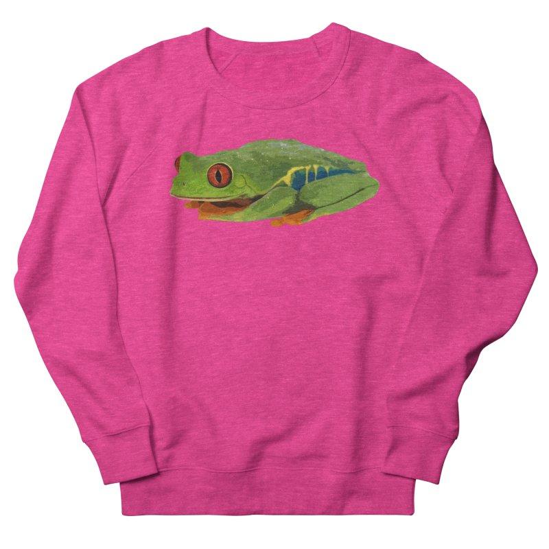 Red-Eyed Tree Frog Men's Sweatshirt by Gary Mc Alea Photography's Artist Shop