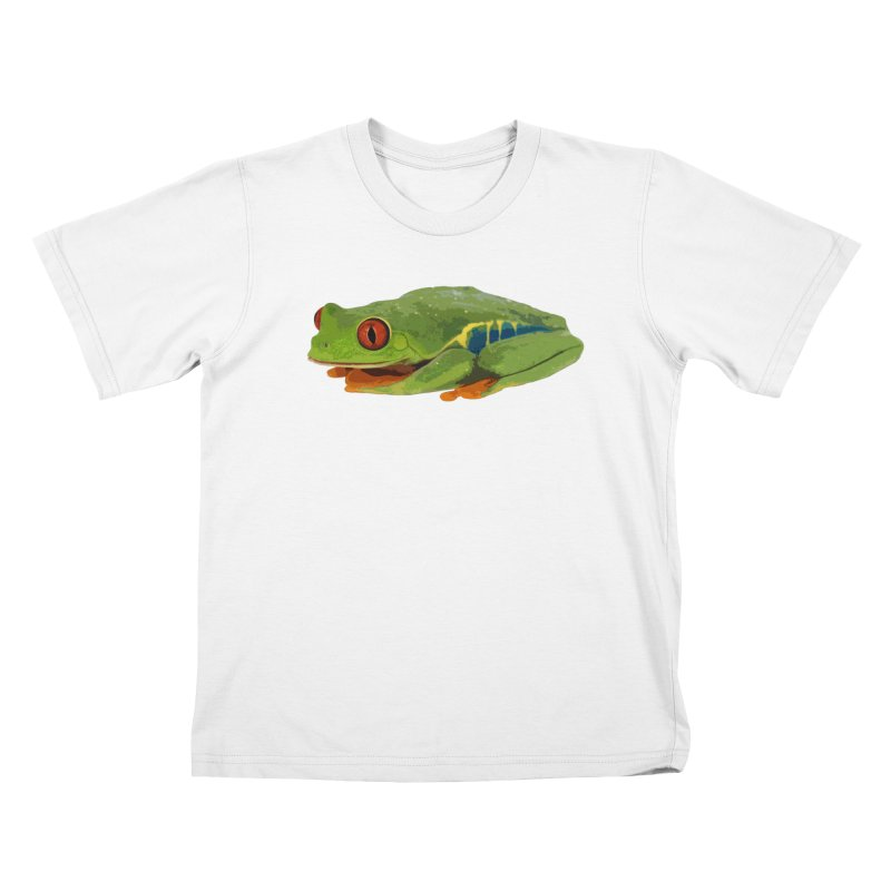 Red-Eyed Tree Frog Kids T-Shirt by Gary Mc Alea Photography's Artist Shop