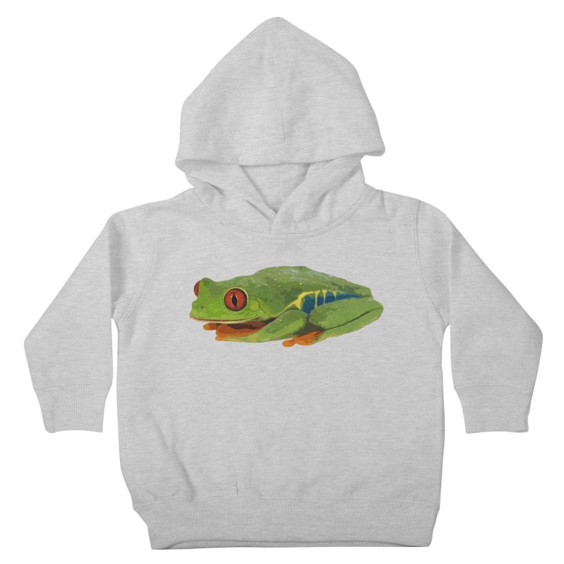 Red-Eyed Tree Frog Kids Toddler Pullover Hoody by Gary Mc Alea Photography's Artist Shop