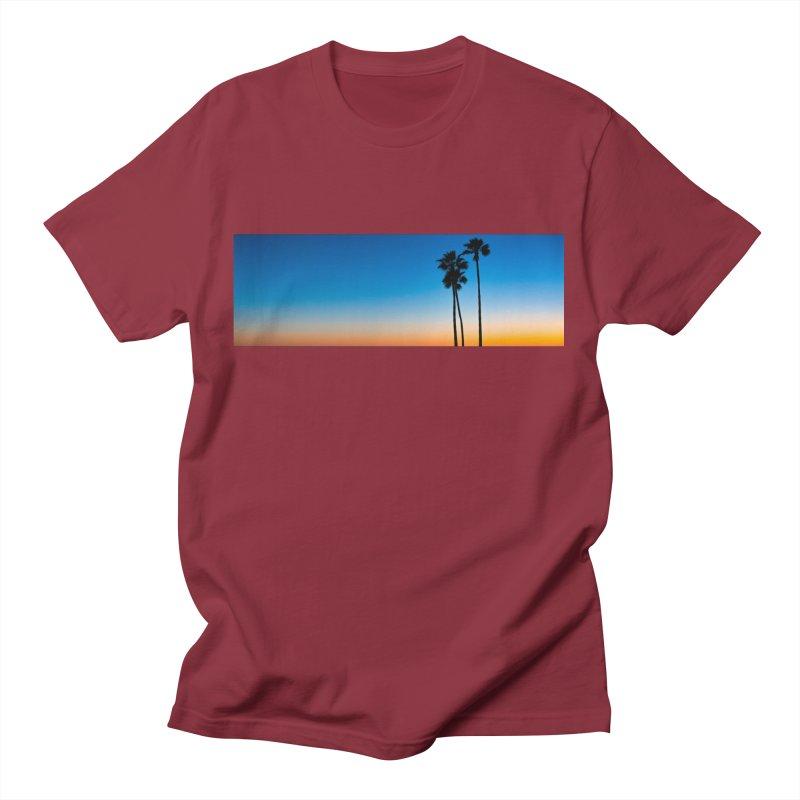 Sunset on the Island Men's T-Shirt by Gary Mc Alea Photography's Artist Shop