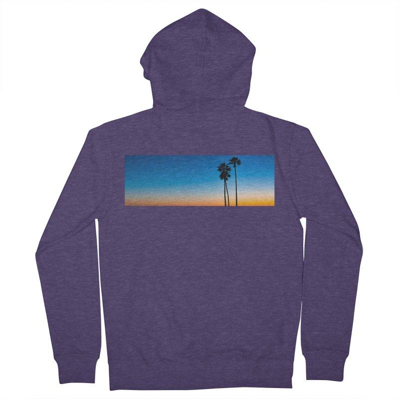 Sunset on the Island Men's Zip-Up Hoody by Gary Mc Alea Photography's Artist Shop