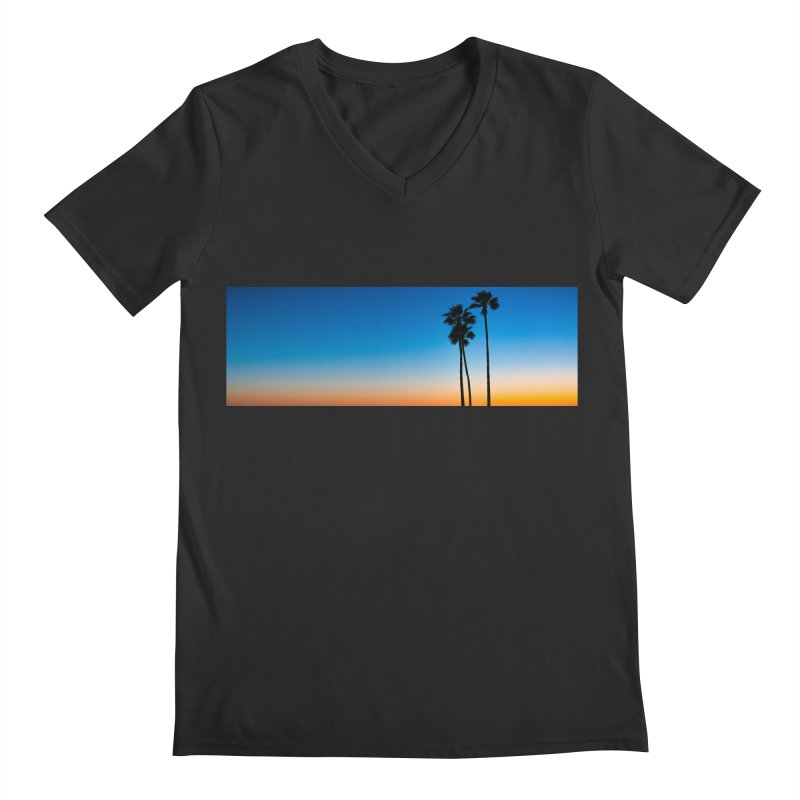 Sunset on the Island Men's V-Neck by Gary Mc Alea Photography's Artist Shop