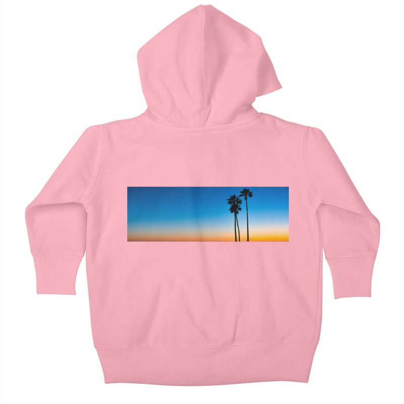 Sunset on the Island Kids Baby Zip-Up Hoody by Gary Mc Alea Photography's Artist Shop